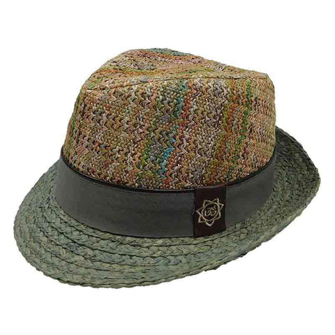 Carlos Santana Multi Color Fedora
