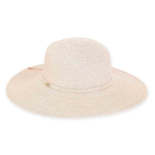 Metallic Braid Shimmer Floppy Hat - Sun'N'Sand Hats