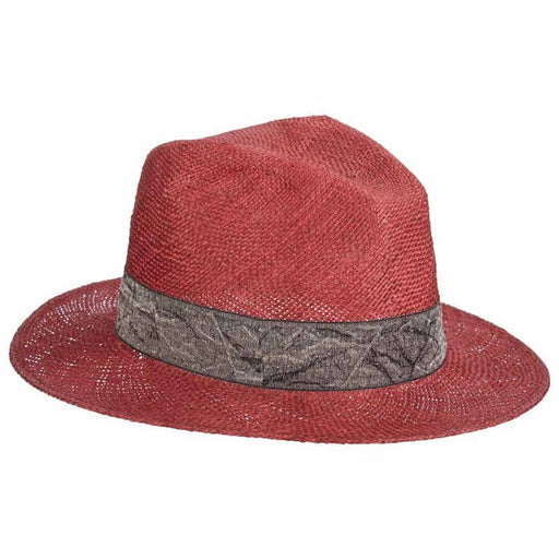 Signoria Bao Straw Fedora - Brooklyn Hat Co