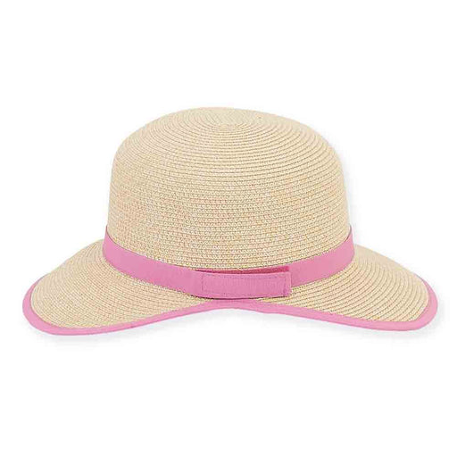 Small Brim Backless Facesaver Hat - Sun 'n' Sand Hats®