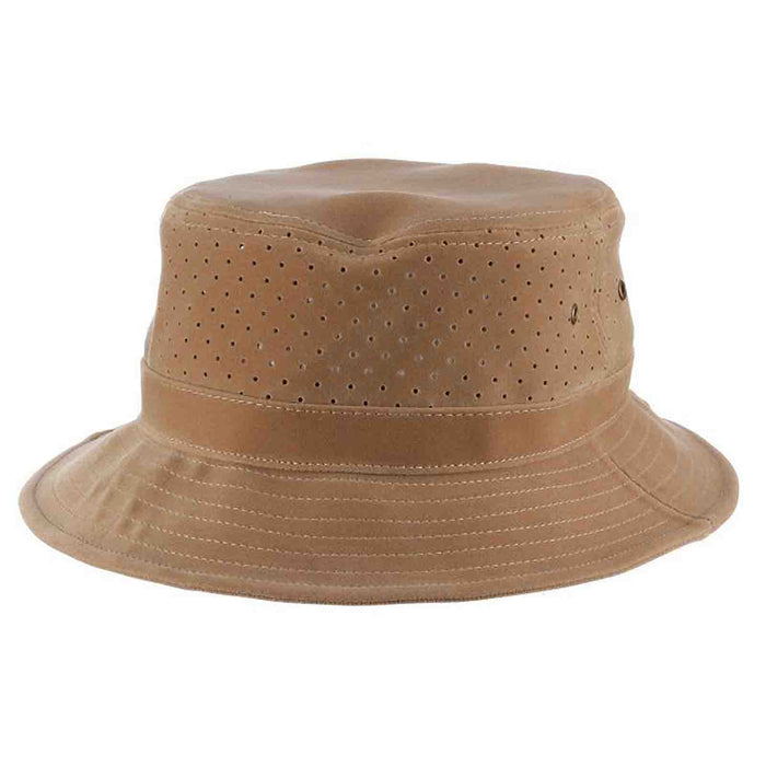soaker bucket hat dpc dorfman pacific perforated side fishing hat
