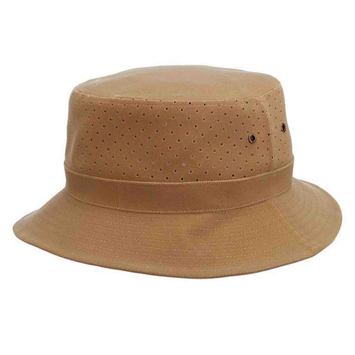 soaker bucket hat dpc dorfman pacific perforated side fishing hat men