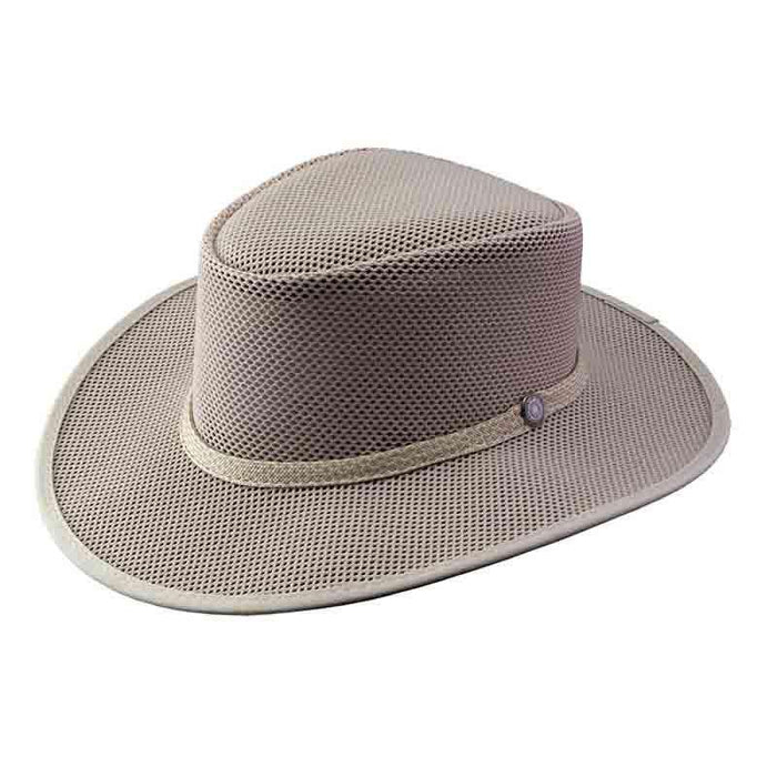 Cabana Ivory SolAir Breathable Mesh Shade Hat by Head 'N Home - SetarTrading Hats