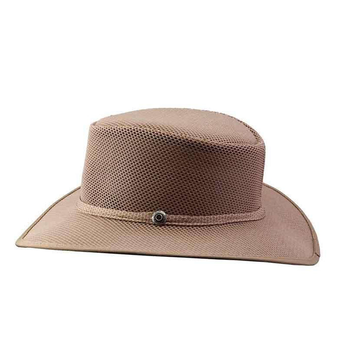 220ef9e7 Cabana Sand SolAir Breathable Mesh Shade Hat by Head 'N Home - SetarTrading  Hats