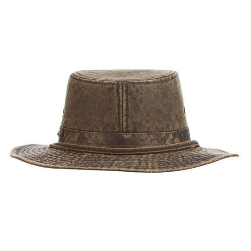 Weathered Cotton Tiller Hat by Stetson Legendary Hats