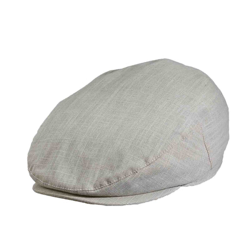 stetson cotton flat cap ivy cap golf cap grey large size men