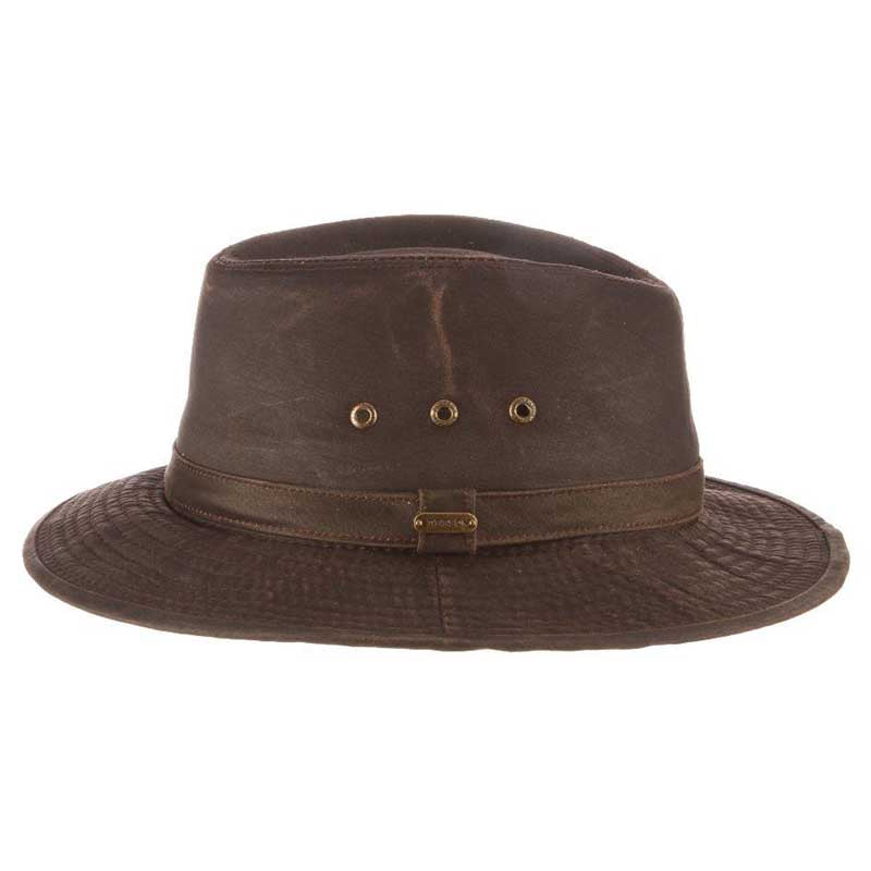 Distressed Cotton Tiller Hat - Stetson Legendary Hats