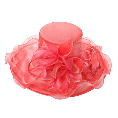 Curly Satin Ribbon Organza