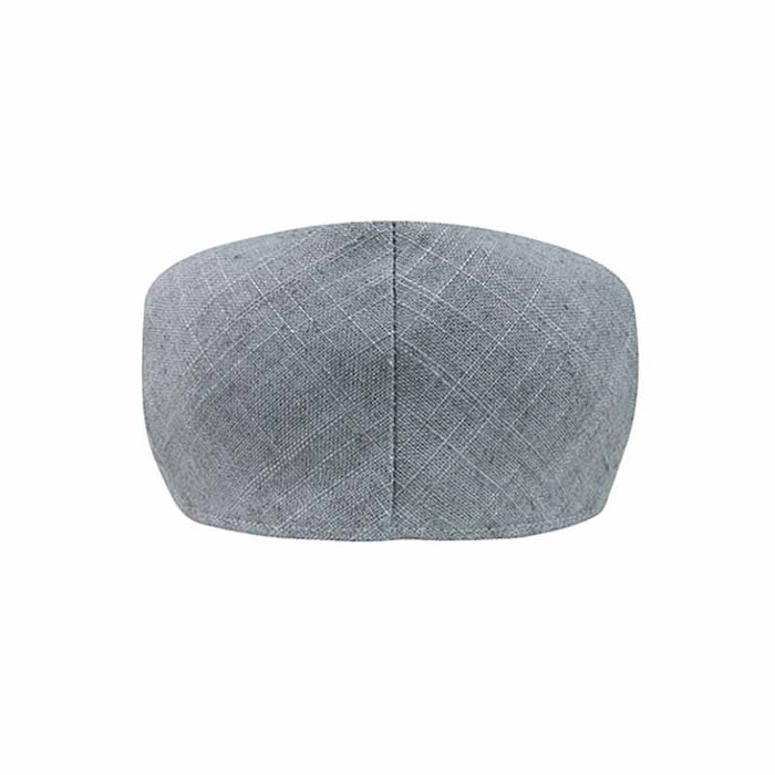Textured Linen and Cotton Blend Ivy Cap - Mega Cap