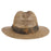 tommy bahama los cabos sea grass safari hat with tropical three pleat band back