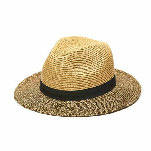 Tweed Braid Fedora Hat - Kallina