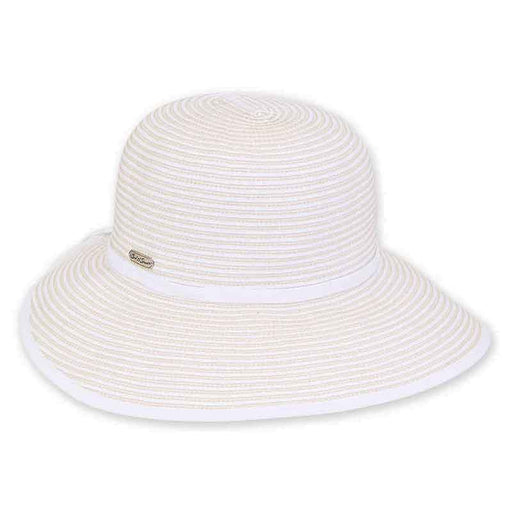 Two Tone Ribbon Facesaver Hat - Sun 'N' Sand®