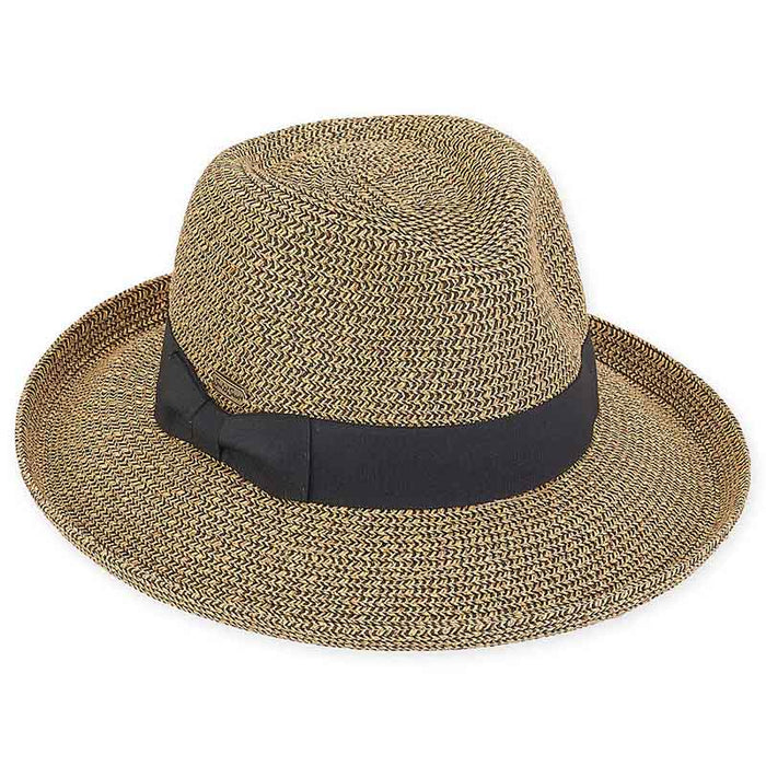 Unique Up Turned Brim Fedora Hat - Sun 'n' Sand®