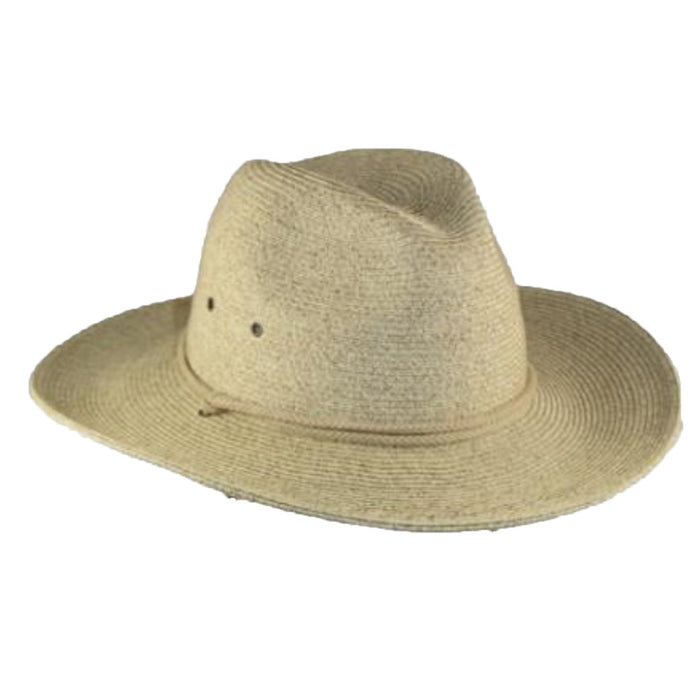 Unisex Straw Gardening Hat with Chin Cord - Large and XL Sizes