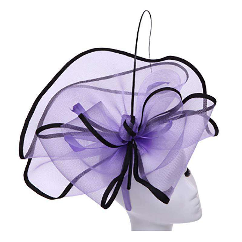 Extra Large Tulle Mesh Fascinator - SetarTrading Hats