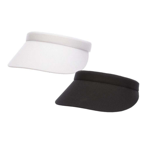 "Cotton Clip On Sun Visor, 3"" Peak - DPC Women"