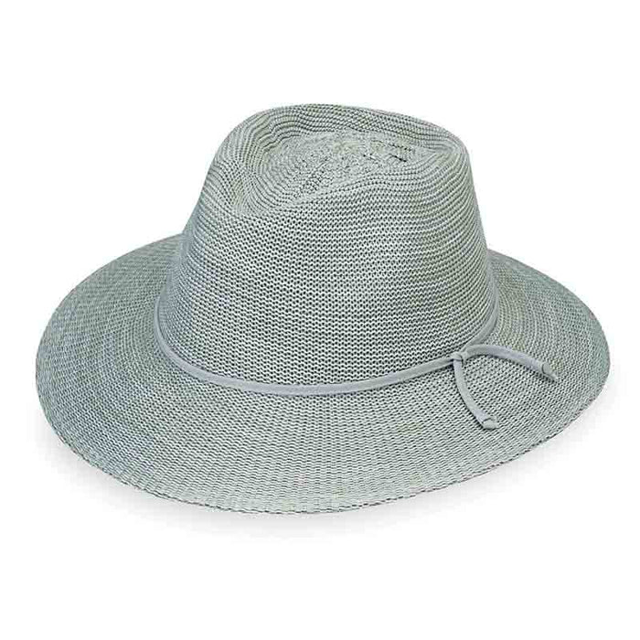victoria fedora hat seafoam wallaroo sun protection hats
