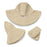 Petite Scrunchie by Wallaroo Hats at SetarTrading Hats