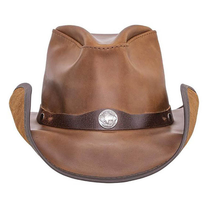 Western Leather Cowboy Hat up to 3XL - Double G Hats, USA