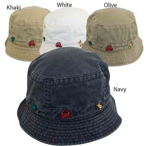 Cotton Bucket Hat for Toddlers - DPC Kinder Caps