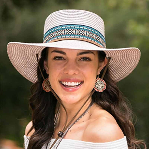 Wide Brim Summer Bolero Hat - Kallina
