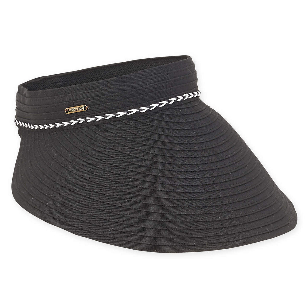 Large Brim Clip On Fabric Sun Visor - Sun'N'Sand®
