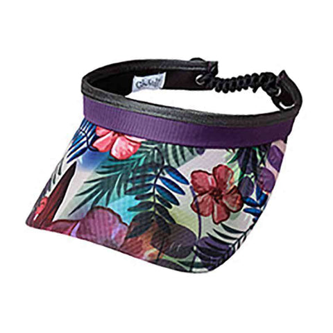 Tropical Golf Sun Visor with Coil Lace by GloveIt