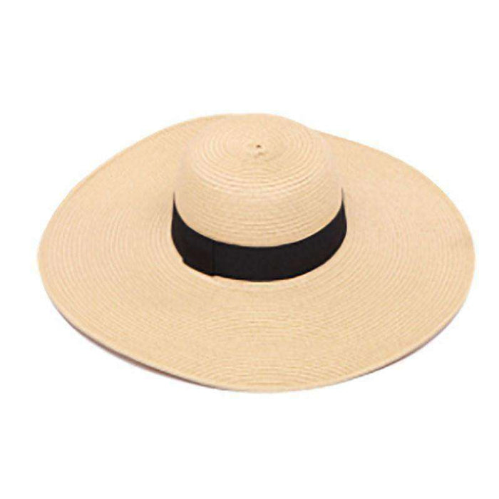 f9af680525c Extra Large Brim Beach Hat - Large Size Women's Hat