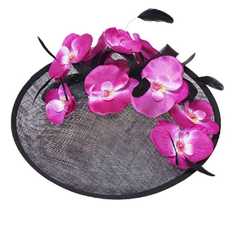 Tropical Flower Fascinator - SetarTrading Hats