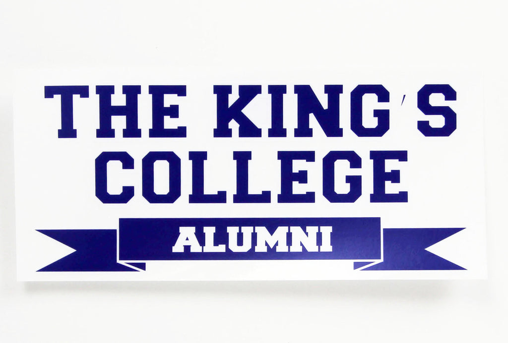 Decal - Alumni