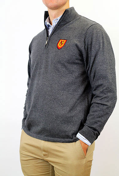 Sweater, 1/4 Zip - Men's Houses