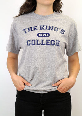 T-Shirt, TKC NYC (Navy and Gray)