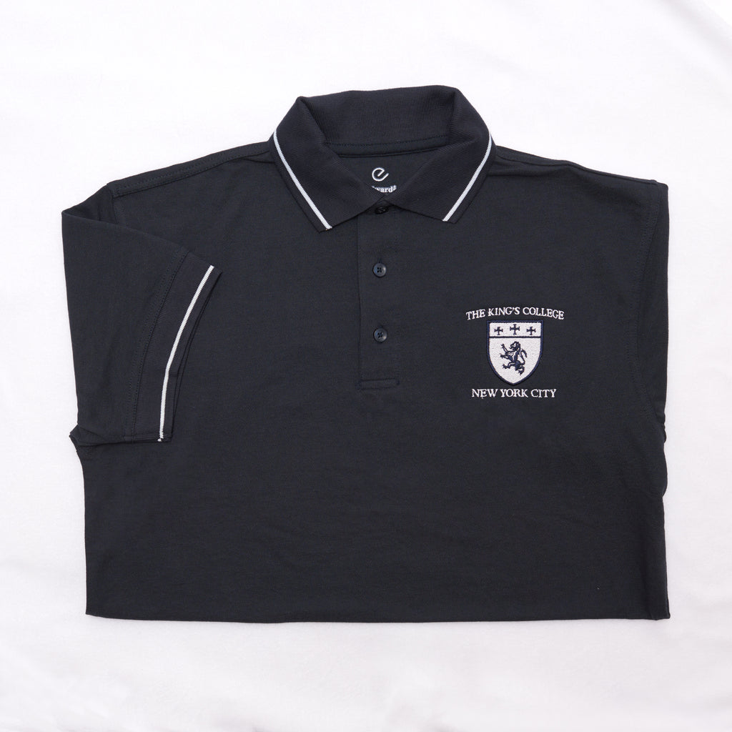 Polo Shirt with Tipped Collar