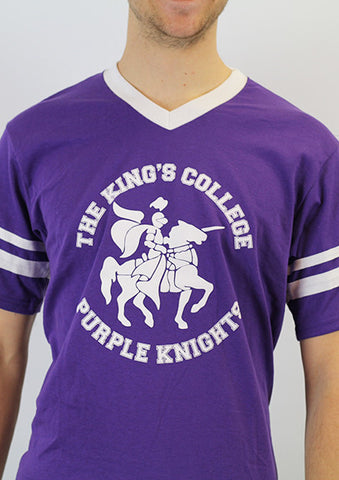 Vintage T-Shirt, Purple Knights 2.0