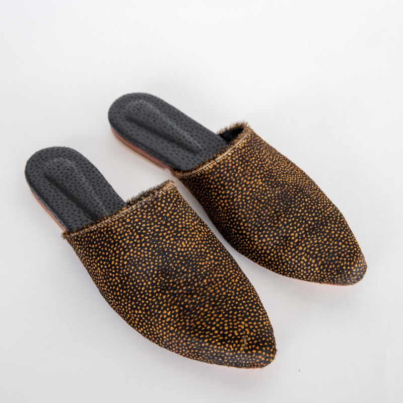 Catalina Mules Cowhide