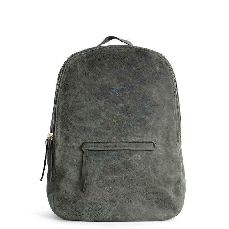 Gaucho backpack in Military from front