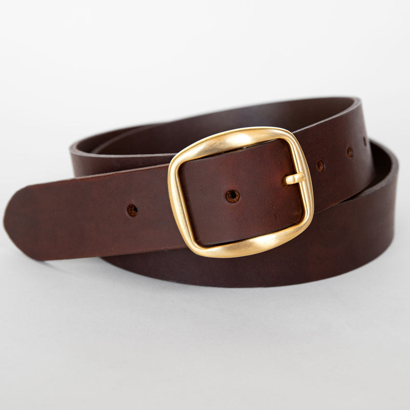 Nui belt in dark brown