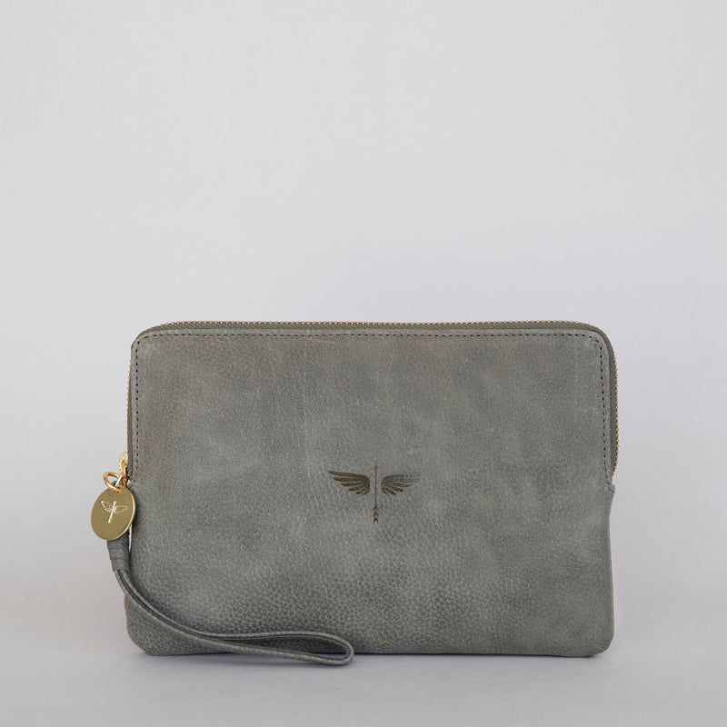 Pouch Wallet in Military Front