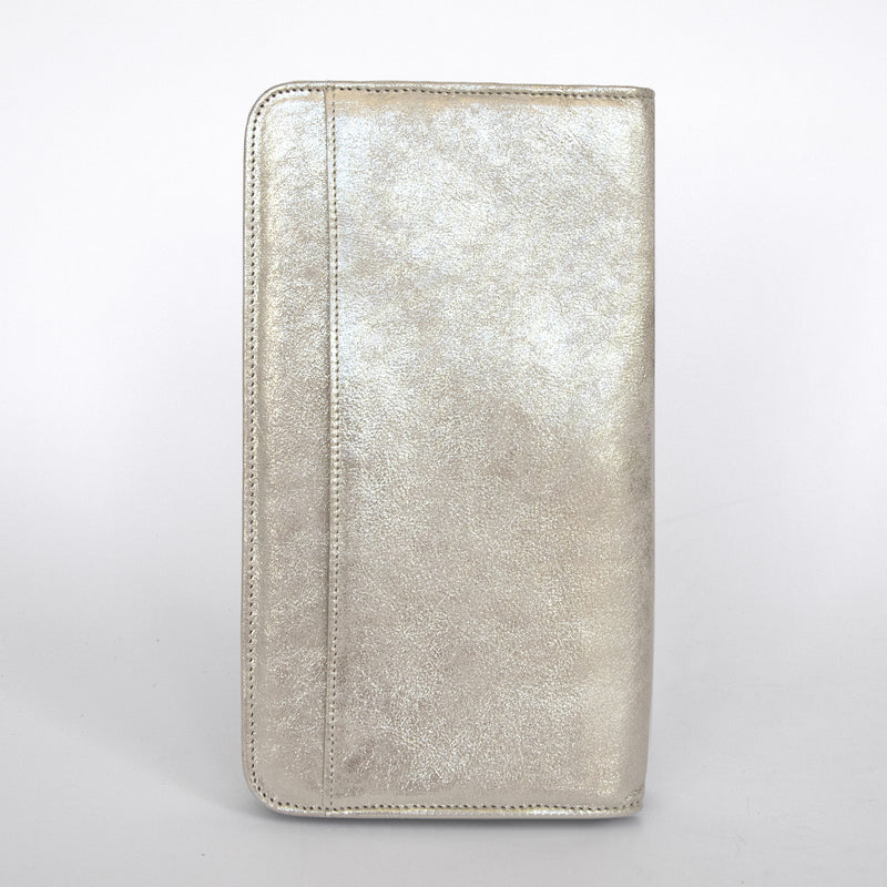 Travel Wallet in Champagne Back