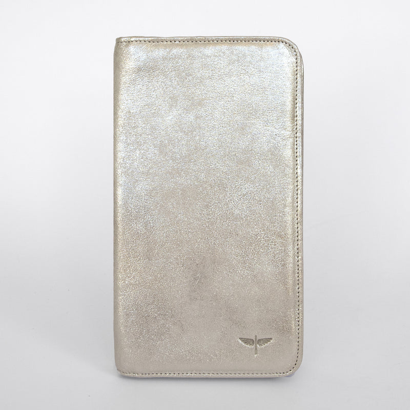 Travel Wallet in Champagne Front