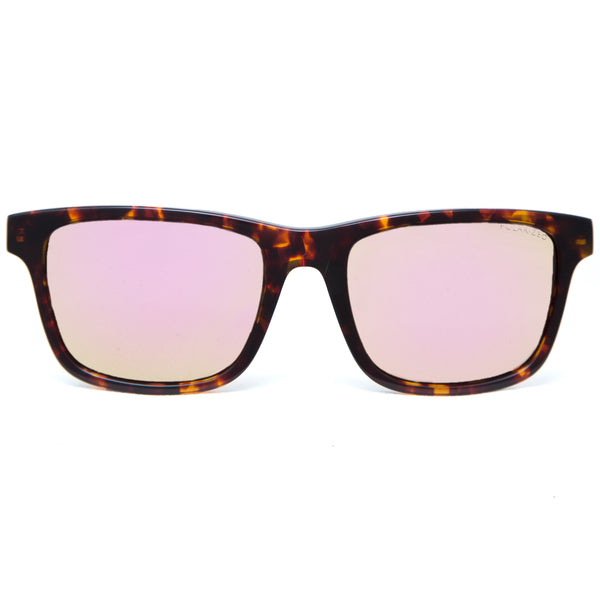 Makani Sunglasses in Tortoiseshell  from front
