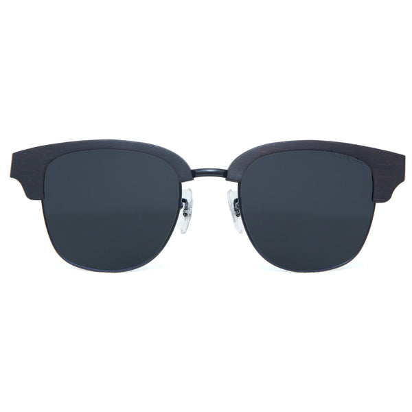 Lani sunglasses in black from front