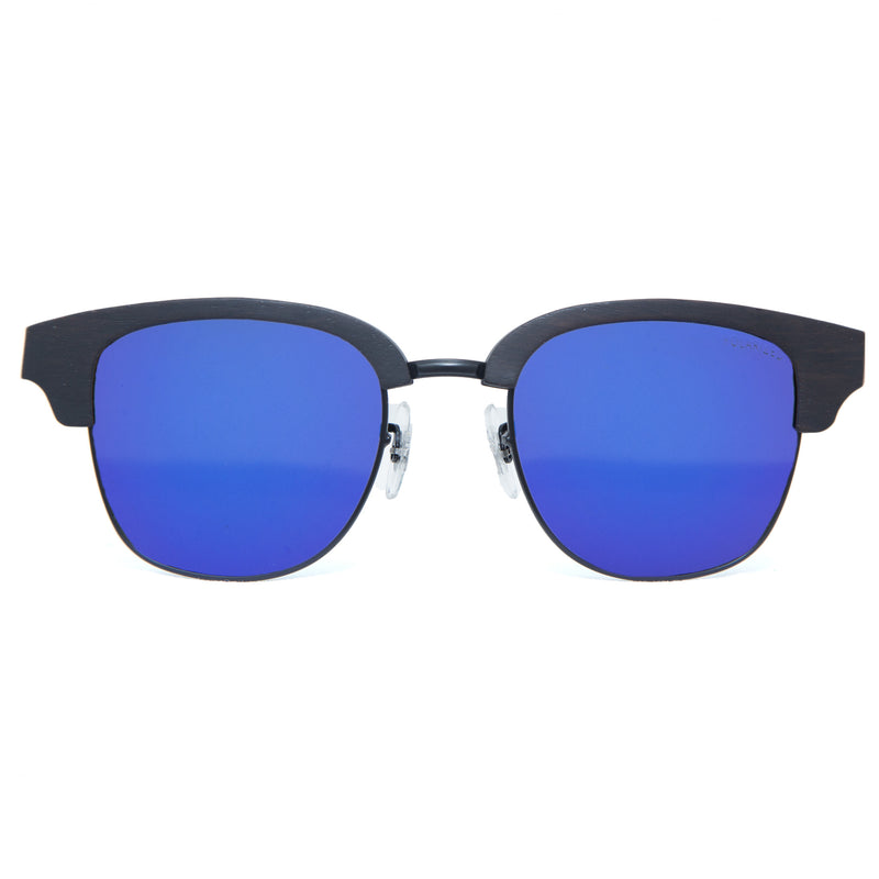 Lani sunglasses in Ocean from front
