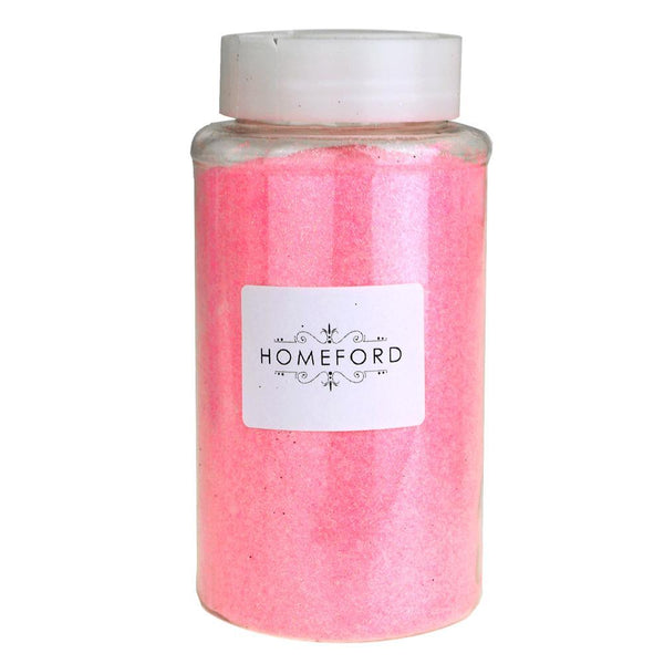 Fine Glitter Bottle, 1-Pound BULK, Pink