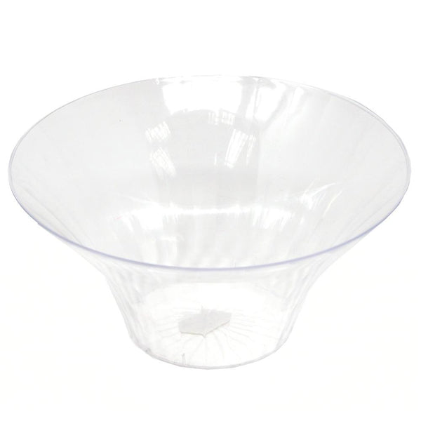 Plastic Flared Bowl Favor Container, Clear, 4-1/4-Inch