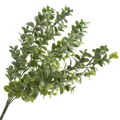Artificial Boxwood Frost Bush, 16-1/2-Inch