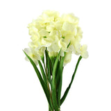 Artificial Daffodil Flowers Spray, 21-1/2-Inch