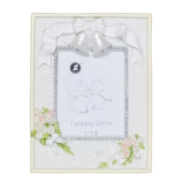 Wedding Bridal Shower Keepsake Frame, 4-3/4-Inch, Bride Bouquets