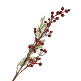 Winter Red Berry Christmas Spray Pick, 28-Inch, 2-Piece