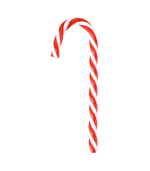 Candy Cane Christmas Ornaments, Red/White, 4-1/2-Inch, 6-Count